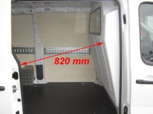 Séparation chauffeur polyester pourJumpy Expert