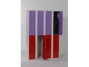 Armoire demi penderie à casiers SP1 DC